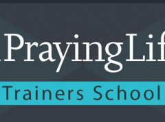 A Praying Life Trainers School Logo